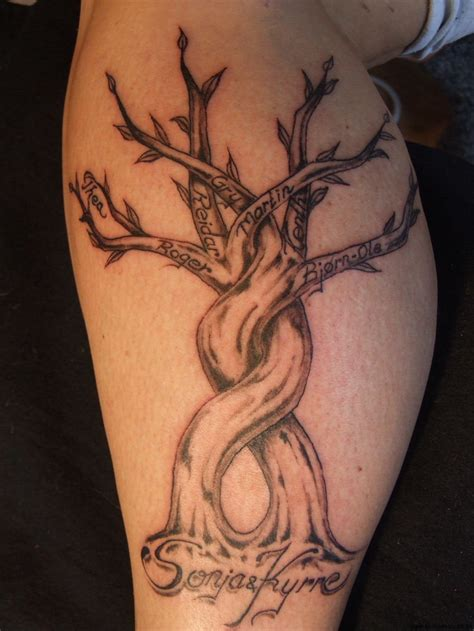 cool tree tattoos family tree tattoos designs ideas and meaning tattoos