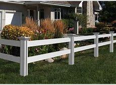 Simple Simon Vinyl Fence   WamBam Fence Vinyl Fence Post Anchors To Concrete