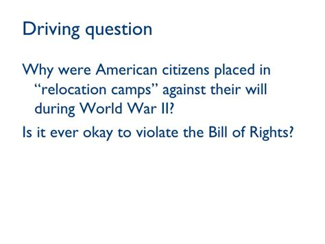 drive questions pbl for social studies language arts