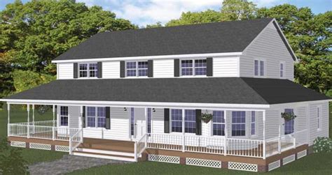 2 Story Farmhouse Plans by Free Blueprints New Line Home Design Two Story Homes