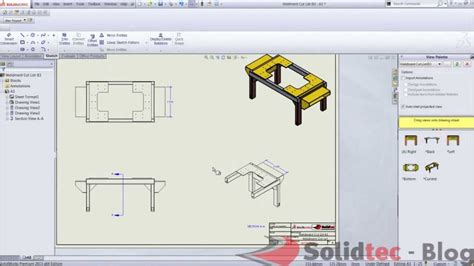 solidworks section view creating isometric section views in solidworks 2013 youtube