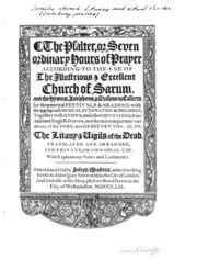 The rite of ordination according to the Roman pontifical