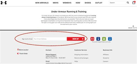 email format under armour nike vs adidas vs under armour email signup welcome