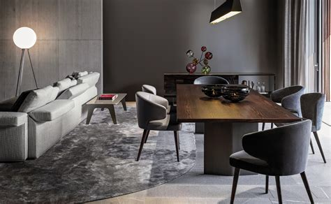 Dining Room Table Sizes Morgan Conference Tables From Minotti Architonic