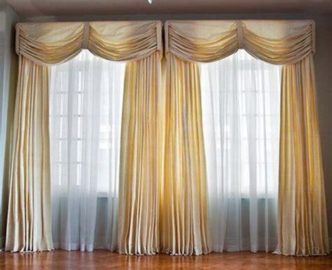 Different types of elegant curtains interior design