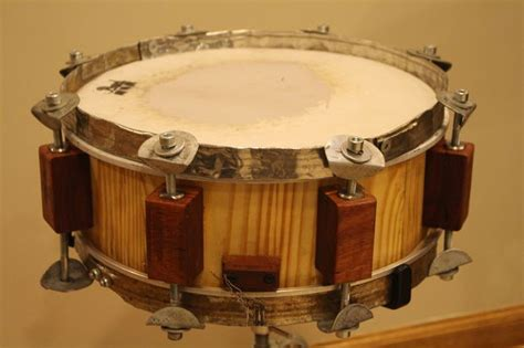 tutorial snare drum 100 upcycled reclaimed stave snare drum build
