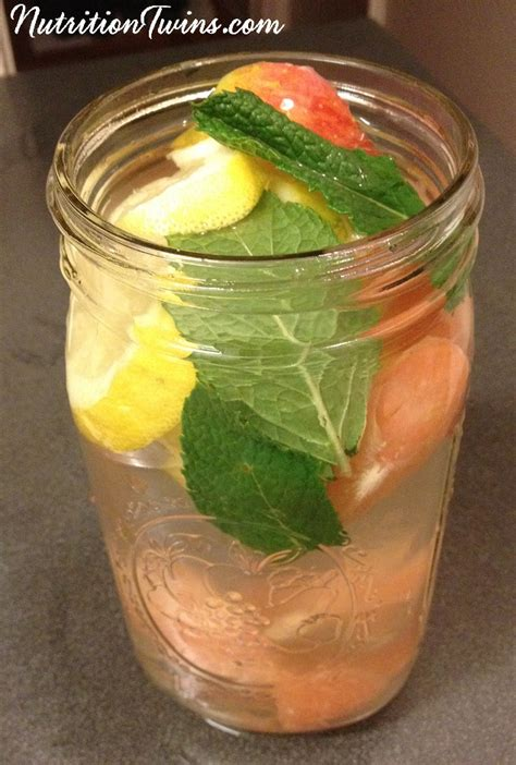 Detox Drinks by Apple Cider Vinegar Mint Quot Detox Quot Drink Nutrition