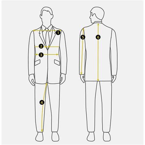 Suits Buying Guide For Men M S Suit Measurements Template