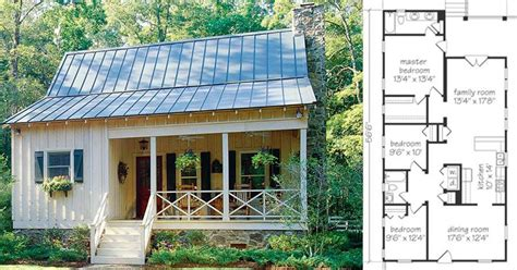 Small Country Cottage Plans by Check Out These 6 Small Farmhouse Plans For Cozy Living