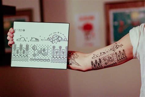minimalist tattoo boston minimal tattoo for dad kirk wallace trzown freelance