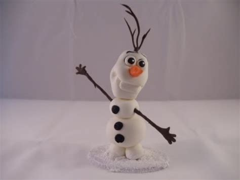 tutorial menggambar olaf frozen how to make olaf cake topper tutorial frozen video fanpop
