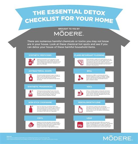 Detox Your House by The Essential Detox Checklist For Your Home The