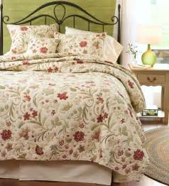 Coverlets Queen Size King Jacobean Vine Quilt Set Ebay