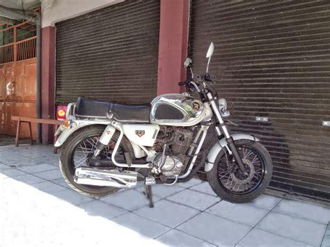 koleksi  modifikasi motor honda cb mesin tiger terbaru