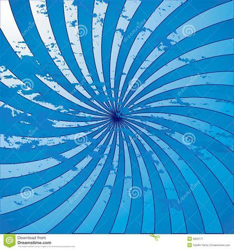 Blue Grunge Starburst Swirl Royalty Free Stock Photography