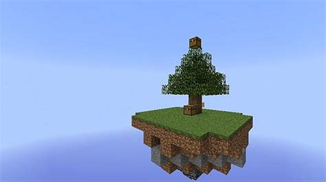 giant skyblock survival map minecraft project