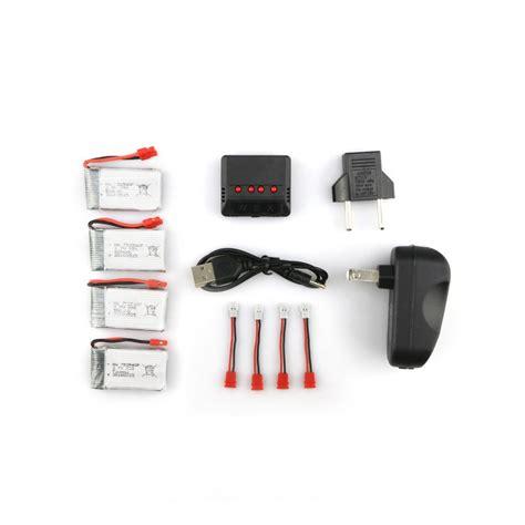 battery syma x5hw rc quadcopter syma x5hc x5hw rc quadcopter spare parts 4pcs 3 7v 500mah