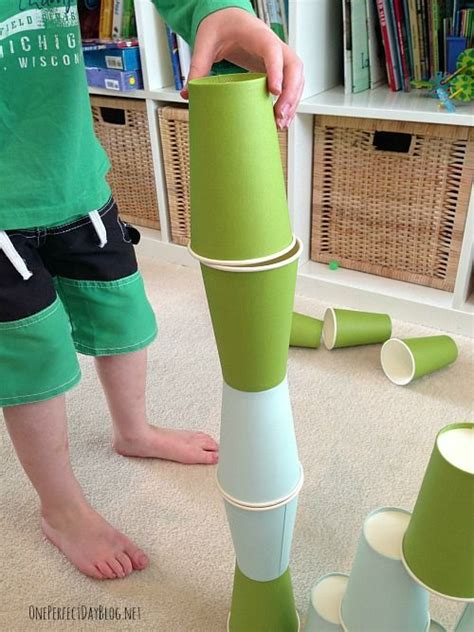 10 using paper cups we simple play ideas