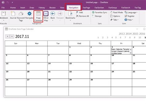 calendar template onenote how to create a onenote calendar template