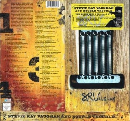 box set collections stevie ray vaughan  double trouble  boxed set  cds