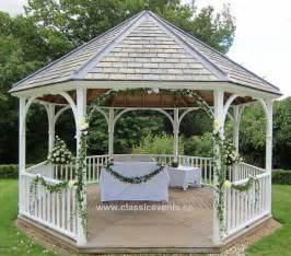Gazebo Decorations Pictures by Classic Events At Rowhill Grange Gazebo Wedding Decoration