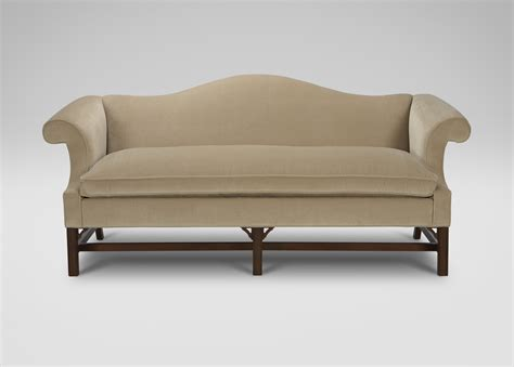 loveseats and couches chippendale sofas ethan allen