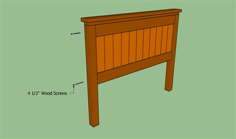 build a bed headboard how to build a queen size bed frame howtospecialist