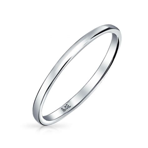 Hochzeit Ringe Silber by Versatile Sterling Silver 2mm Thin Wedding Band Thumb Toe Ring