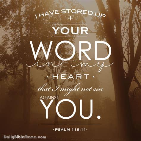 Scripture Memes - psalm 119 daily bible meme