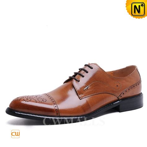 designer oxford shoes cwmalls 174 semi brogue leather dress oxfords cw716015