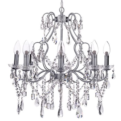 Chandelier Lighting Uk Marquis By Waterford Annalee Led 8 Light Bathroom Chandelier Chrome From Litecraft