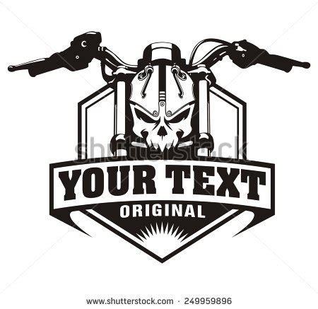 T Shirt Bikers Motor Yamaha Rx King 003 motorcycle skull vintage stock vector illustration