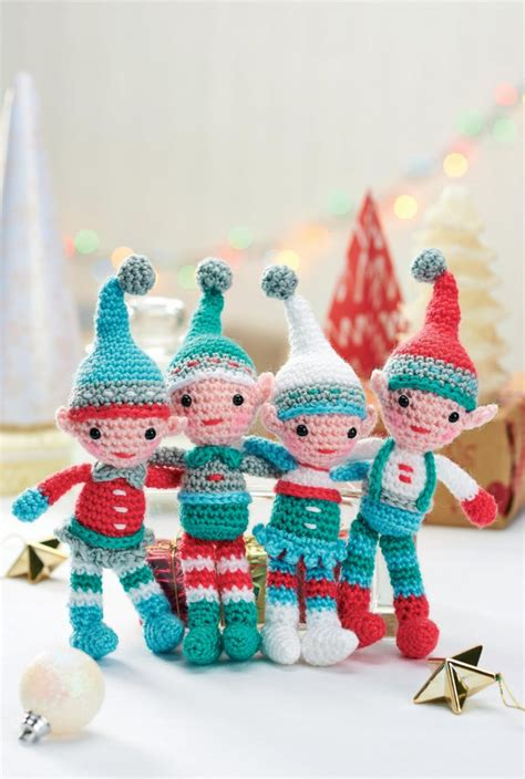 pattern for a christmas elf free christmas crochet patterns free christmas elves