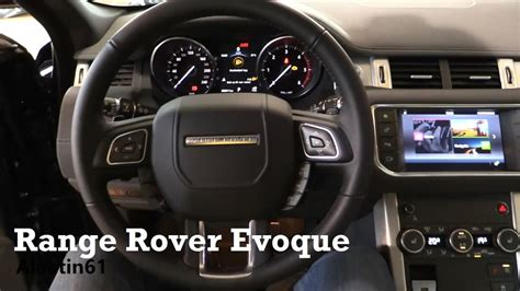 range rover interior 2017 2017 range rover evoque interior review