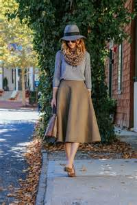 how to style a midi skirt for fall 29 ideas styleoholic