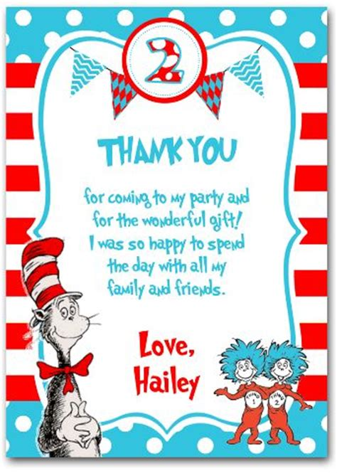 Dr Seuss Birthday Card Template Princess And The Peas