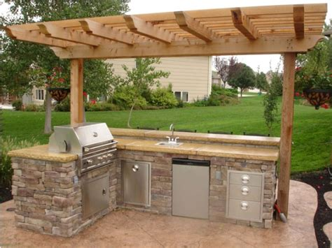 outdoor sink ideas outdoor kitchen ideas and how to site it right traba homes