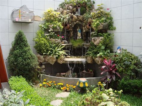 imagenes jardines interiores casas dise 241 o de cascada para jardines imagenes de casas de co