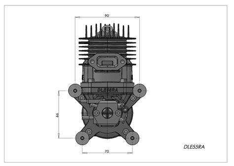 Dle 55ra Engine dle 55ra