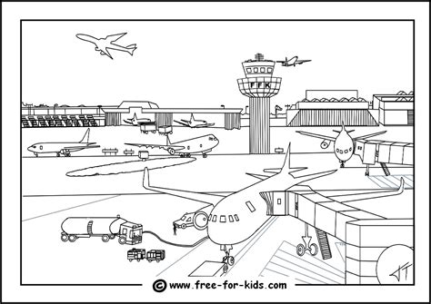 737 Coloring Page by Aeroplane Colouring Pages