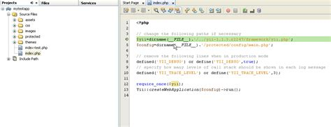 yii netbeans tutorial tech talk setup and debug an yii app in netbeans ide