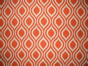 Orange Geometric Curtains 84 Quot Shower Curtain Unlined Orange Beige Geometric Contemporary Shower Curtains By