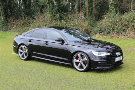 Audi A6 S Line 2012 by 2012 Audi A6 S Line Black Edition Used Car Sales Malahide