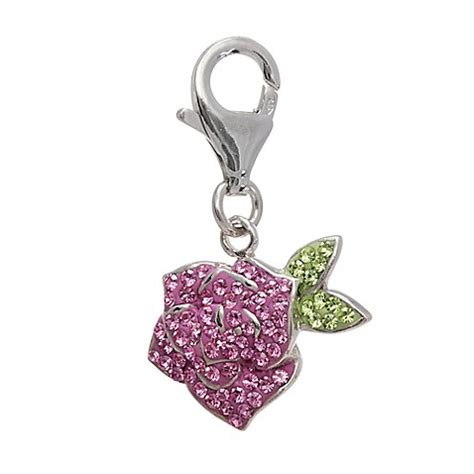 Flower Loving Temperament Earrings Pink White 02a2f9r Personality Sterling Silver Flower Charm Bed