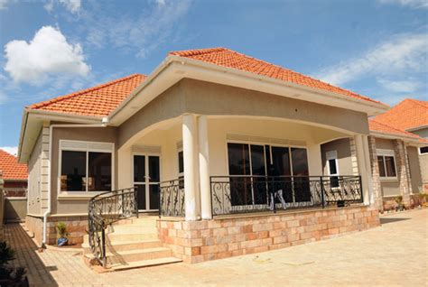 Brick 2 Floor House Designs In Kenya Modern House