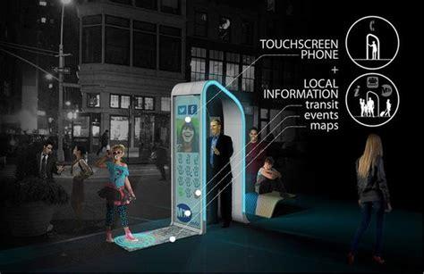 reinvent  payphone digital kiosk design finalists