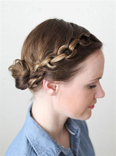 ethnic braid crown how to style a chain braid a beautiful mess