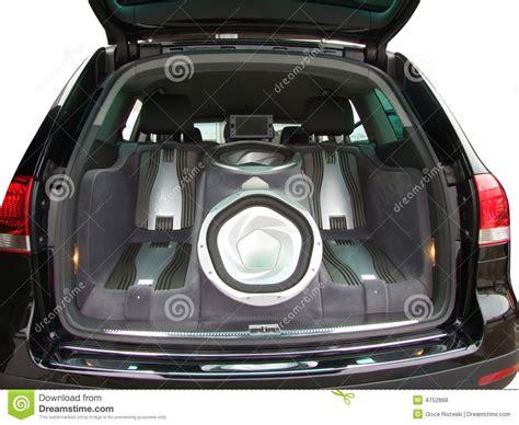 car audio system royalty free stock photos image 4752868