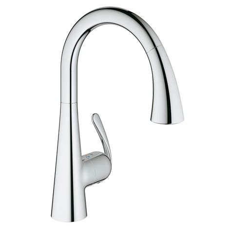 new tall chrome pull down spring dual spray kitchen faucet kohler simplice single handle pull down sprayer kitchen