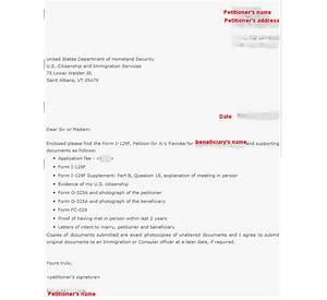 i 129f cover letter for k1 visa k1 fiance visa process guide - I 129f Cover Letter